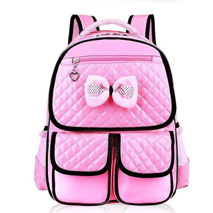 Fashion Children Princess Toddler Girl Backpack Kids Book Bags for School Bag