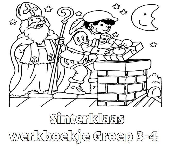 Sinterklaas Werkboekje Groep 3-4