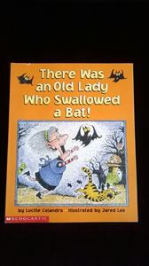 """Picture of """"There was an Old Lady who Swallowed a Bat"""""""