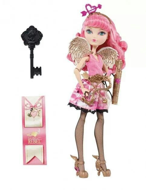 Ever After High CA Cupid she usually goes to monster high but now she goes to ever after high so people may have her assistance
