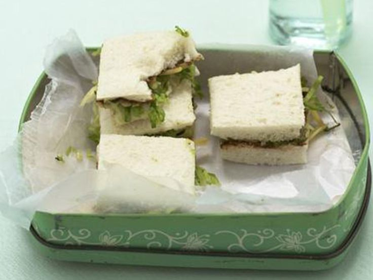 Vegemite, cheese and lettuce sandwich, cheese recipe, brought to you by Australian Women's Weekly