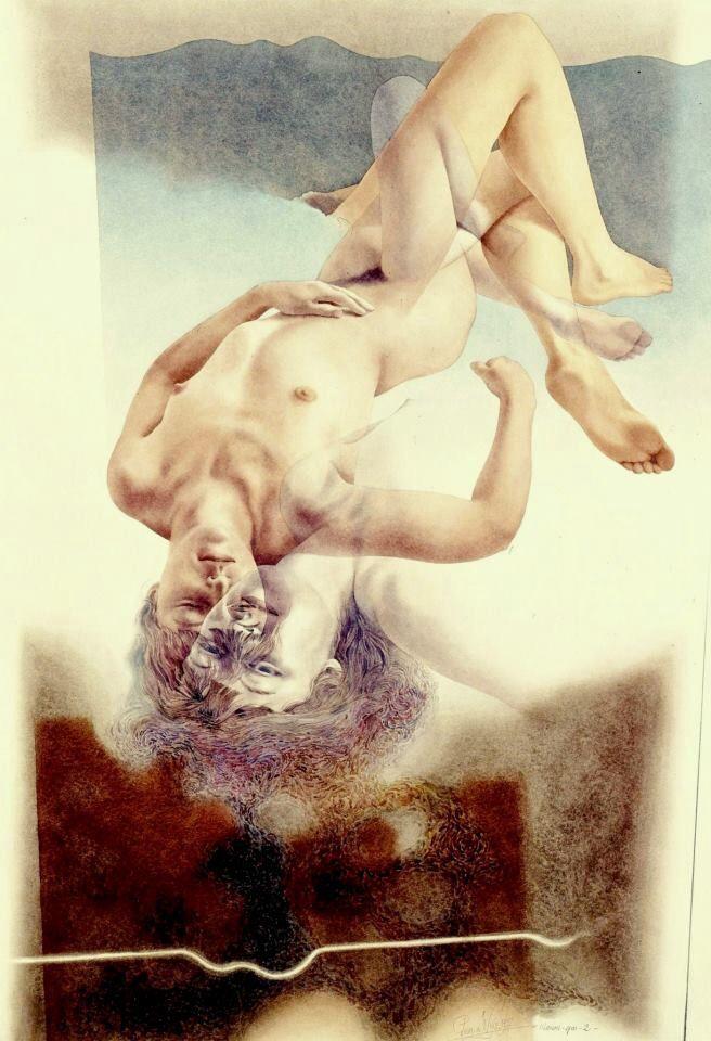 Erotic watercolors of feodor rojankowsky - 2 1