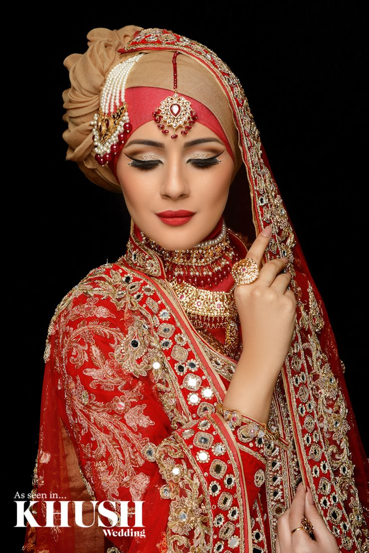 Create a regal elegant hijab look for your big day with Aishi - Asian Bridal Makeup Artist  London based, Nationwide coverage T: +44(0)794 6185 806  W: www.aishi.co.uk Email: info@aishi.co.uk  Outfit: Seema Silk Sarees Jewellery: NK Collection Hijab/Scarf: The Muslimah Boutique  Hijab/Scarf Styling: Humaira Waza