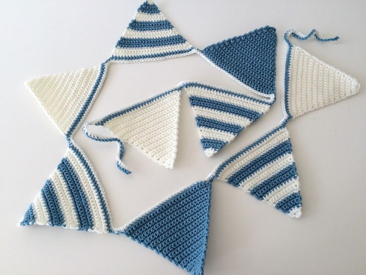A personal favorite from my Etsy shop https://www.etsy.com/listing/245682668/blue-bunting-boys-crochet-bunting-blue
