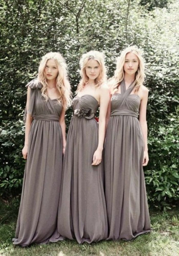 Alternative Bridesmaids Dresses for the Stylish-Minded Bride