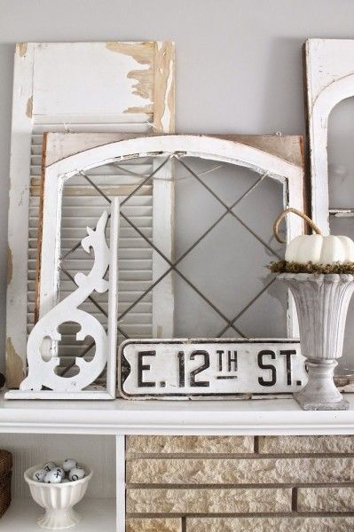 Decorating with architectural salvage eclecticallyvintage.com