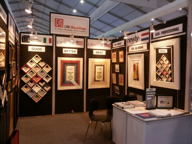 OM Mouldings Product Display Area October 15Product DisplayOm EventsInteriors