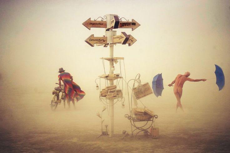 18 photos incroyables du festival le plus déjanté de la planète | Victor Habchy, Burning Man Festival