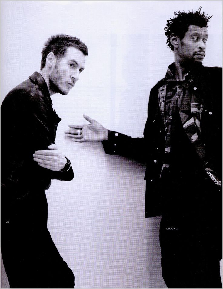 Massive attack January 2016 with Megan and Sam