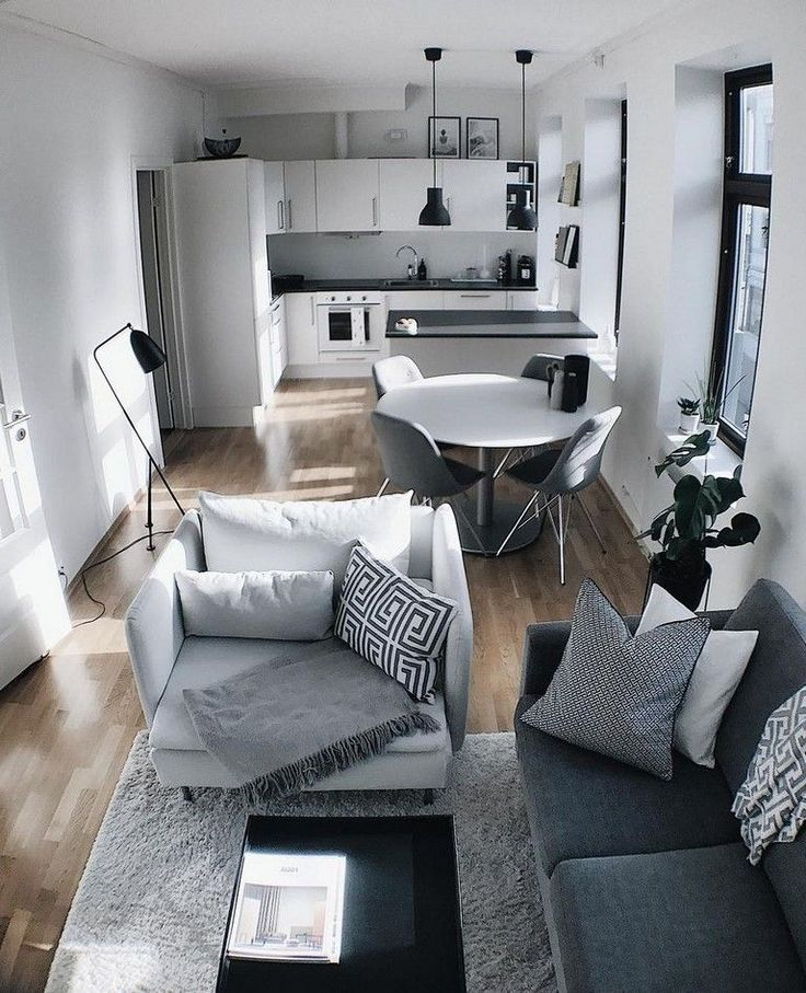 55 Smart DIY Small Apartment Decorating Ideas on …