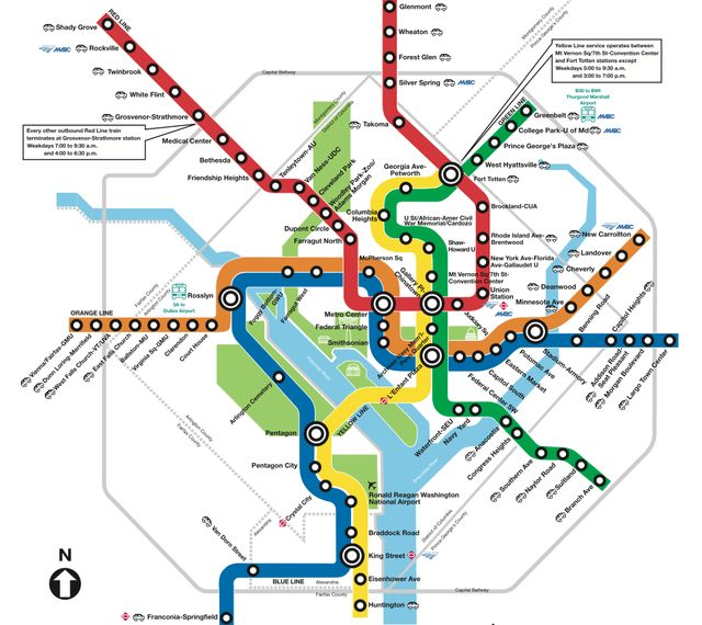 Step By Step Guide: Riding the Washington Metro system: Get Acquainted