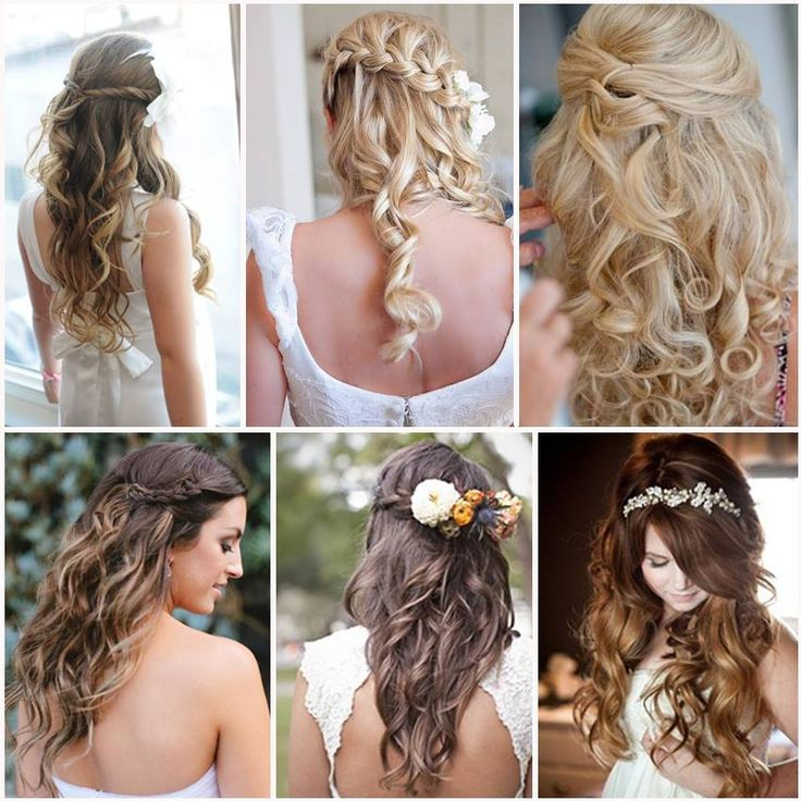 opciones para llevar el pelo suelto peinado