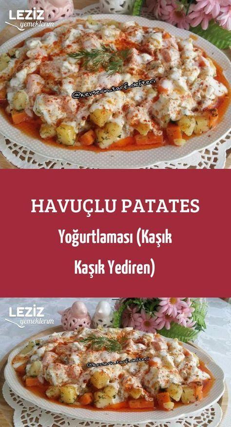 Möhren-Kartoffel-Joghurt (Löffel Löffel Yediren)