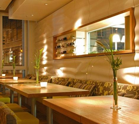 Innenarchitektur Nektar Cafe Restaurant Bar, St. Gallen, Schweiz