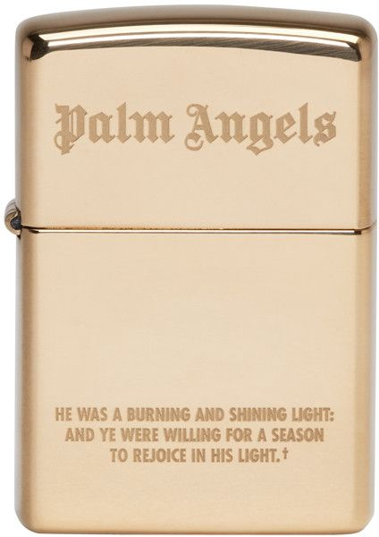 Palm Angels - Gold Zippo Edition Lighter