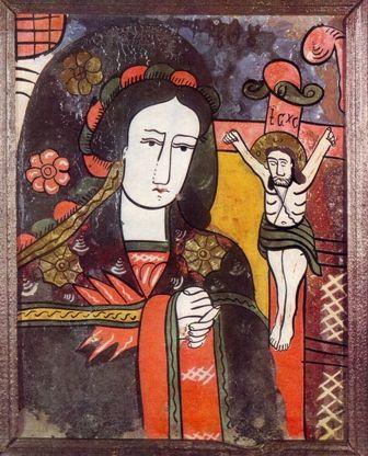 Maica Domnului jalnică (Nicula, sec XIX)