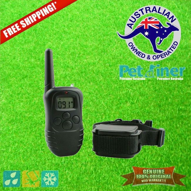Petrainer PET-998DR E-Collar Rechargeable and Water Resistant