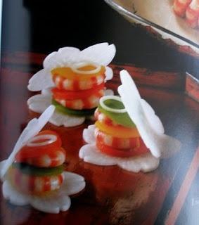 japanese food garnish