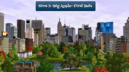 Sims 3 Custom Worlds : City