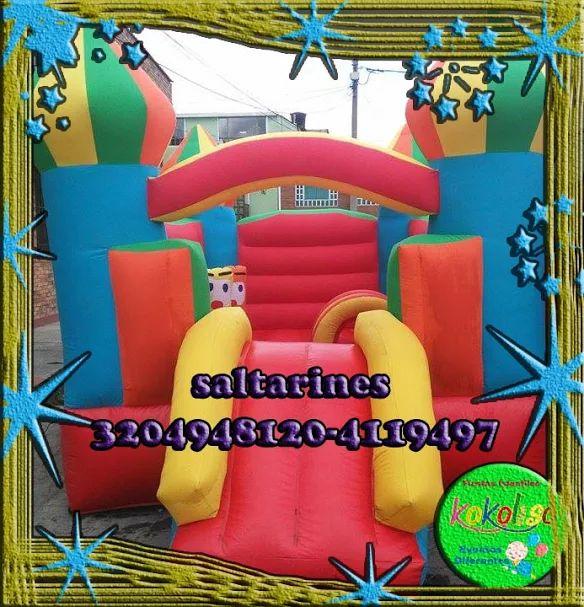 Hacemos tu fiesta infantil vive venturas increíbles con #Castillos inflables reserva tu fiesta aquì y llámanos ahora 3204948120-4119497 http://goo.gl/c3eDWK