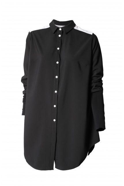Koszula z różowym karczkiem, Magda Hasiak, 320 zł. Sprawdźcie na #BoutiqueLaMode.com
