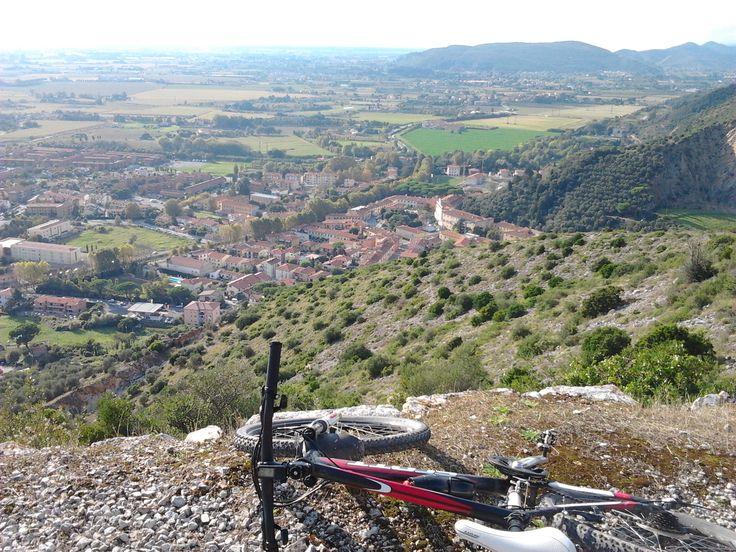 San Giuliano Terme dal monte Castellare