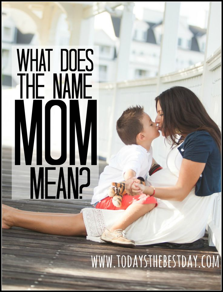 What does the name MOM mean