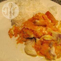 Фото рецепта: Запеченная треска под маринадом