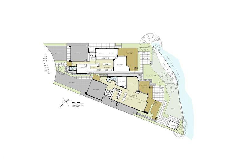 Imagen 11 de 14 de la galería de Terraza Gleneagles / Cymon Allfrey Architects. Planta