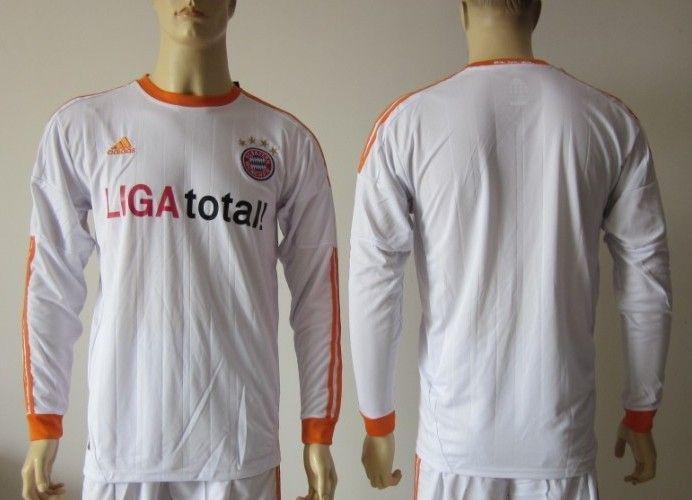 Bayern Munich 2012/13 Away manga larga [147] - €16.87 : Camisetas de futbol baratas online!