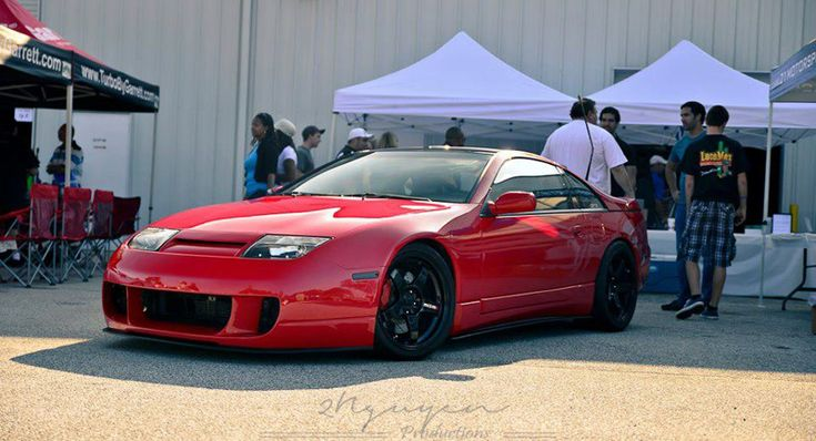 Nissan 300ZX on Nismo LM GT4 Wheels and more mods