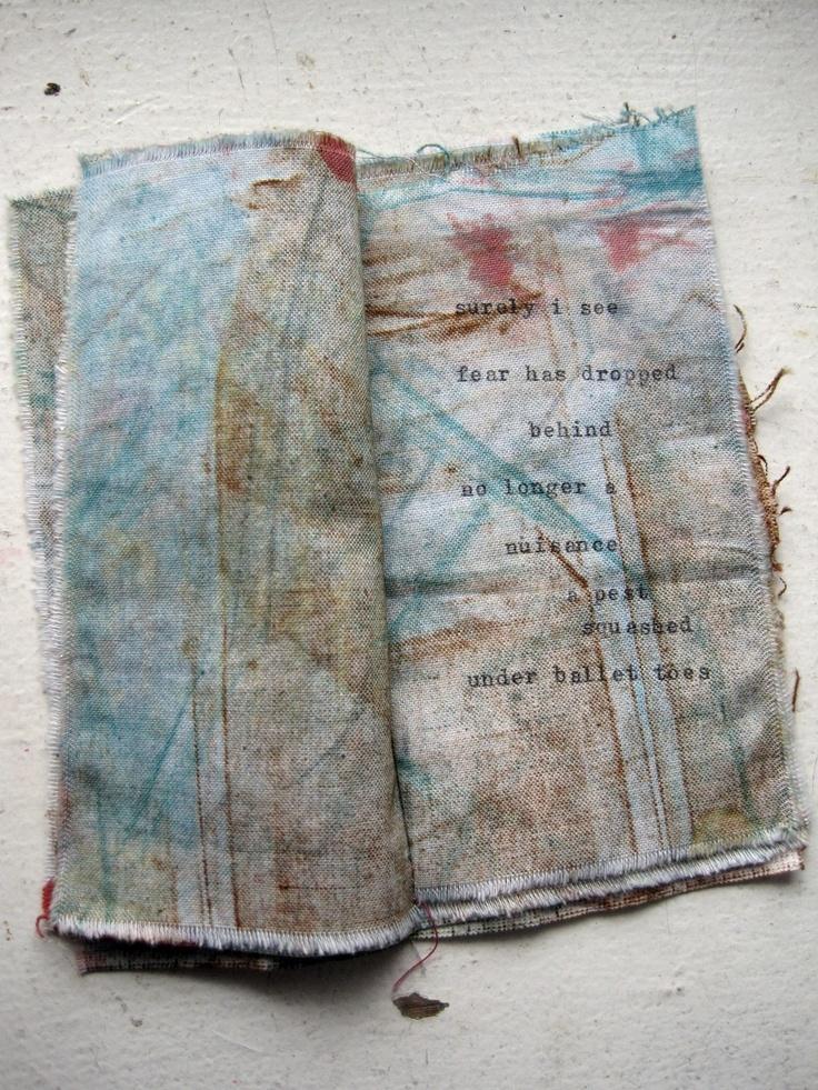 poetic zine small artsy book