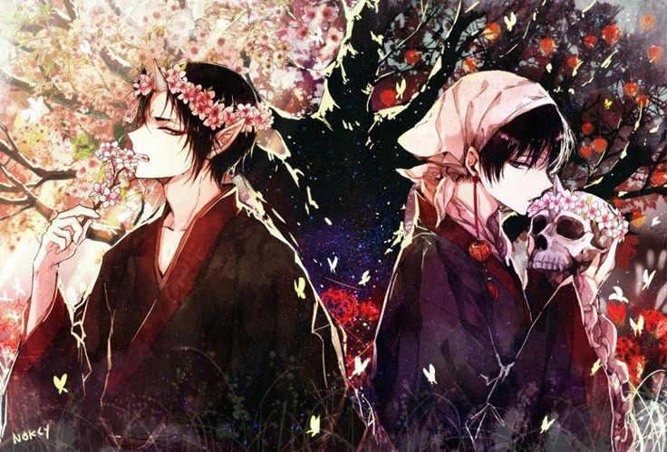 Hoozuki & Hakutaku (Hoozuki Reitetsu)