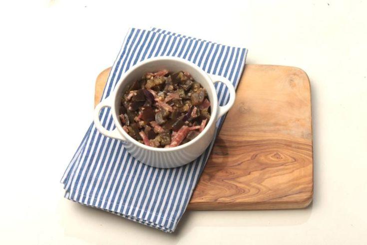 Berinjela piemontesa - Cheia de sabor, ela cairá bem como entrada ou aperitivo