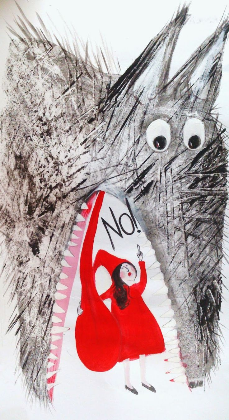 Little Red Riding Hood Say's No! by Hazel Terry