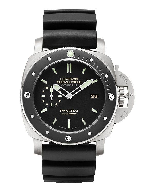 www.watchtime.com | watches wristwatch industry news  | Panerais New Luminor Has Antimagnetic Case | Panerai PAM00389 front 560