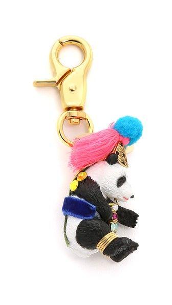 Lenora Dame Подвеска для сумки с изображением панды