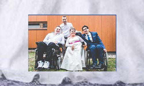 Le défi : organiser son mariage en fauteuil roulant ! - En ce moment (8357)