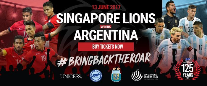 Singapore vs. Argentina Time, Live Online Stream and TV Schedule 2017   Argentina will play their final match before the summer break against Singapore on Tuesday, the last friendly before FIFA 2018 World Cup qualifying resumes. La Albiceleste are coming off a big win over rivals Brazil in Australia in a friendly, and, in all likelihood, …