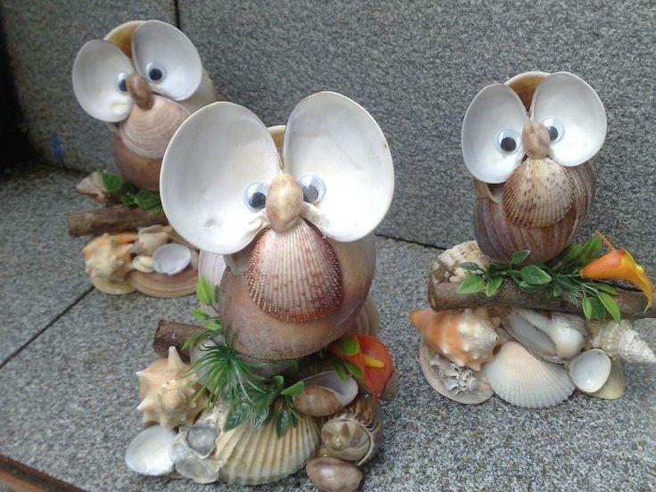 artesanatos com conchas - Pesquisa Google