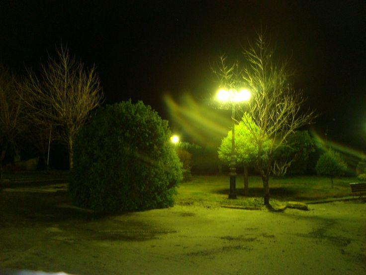 Chaiten plaza at night by rmacro82 | from Panoramio http://www.panoramio.com/photo/29759359