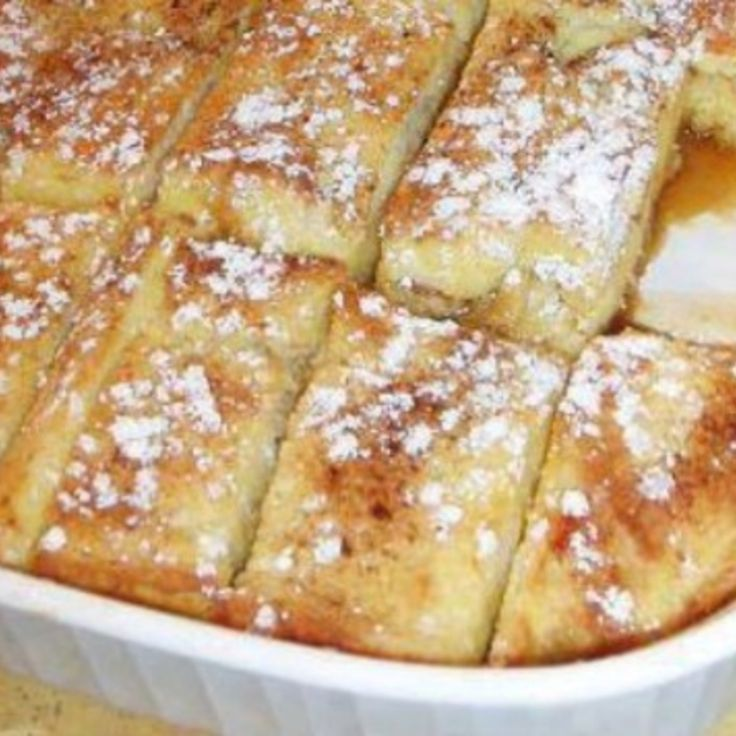 Overnight Spice French Toast Bake