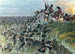 Siege of Yorktown - Attack on Redoubt #10 by Alexander Hamilton