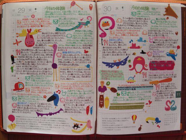 カズンのデイリーページです。 - ジャニ蔵のほぼ日手帳の使い方・トラベラーズノート・なんでもブログ