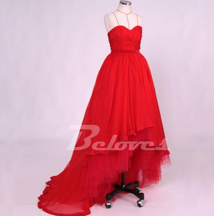 Red Dress, Prom Dress, Red Prom Dress, Tulle Dress, High Low Dress, Sweetheart Dress, Dress Prom, Ball Dress, Skirt Dress, Red High Low Dress, High Low Prom Dress, Ball Gown Dress, Gown Dress