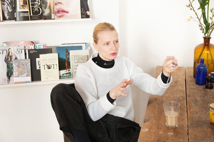 Freunde von Freunden — Viviane Hausstein — Stylist & Fashion Designer, Apartment & Neighborhood, Kreuzberg, Berlin — http://www.freundevonfreunden.com/interviews/viviane-hausstein/