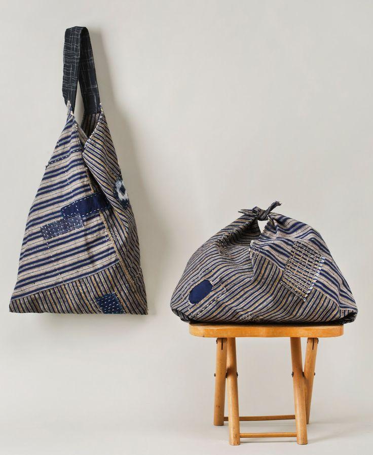 Jody Alexander - Tsuno Bukuro and Azuma Bukuro - Boro Bags Workshop -Wishi Washi Studio