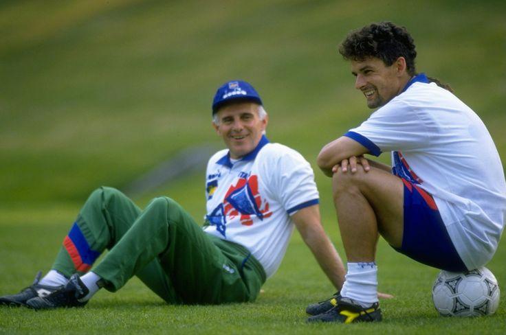 Sacchi and Baggio