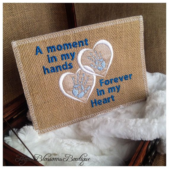 Infant loss memorial for baby boy Angel by HopeBlossomsBoutique