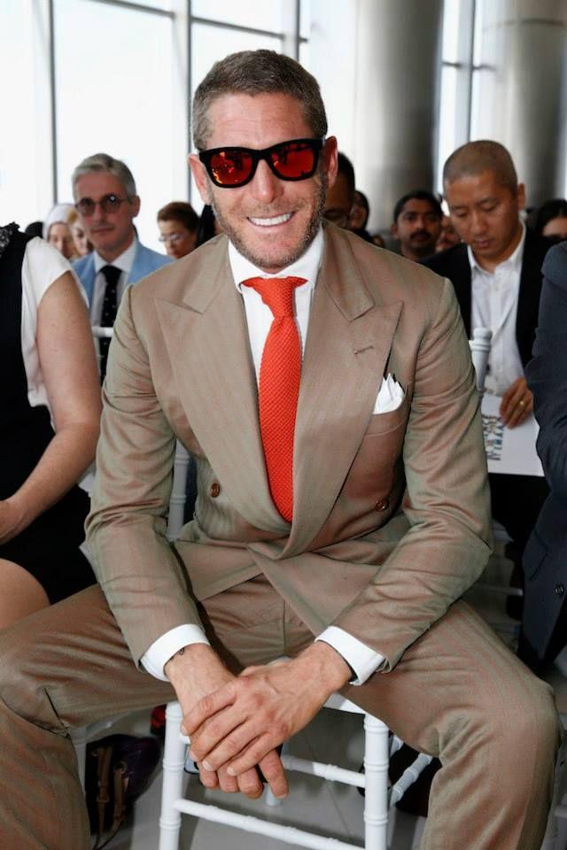 Lapo Elkann at the Vogue Dubai Fashion Experience press conference at Burj Khalifa on October 9, 2013 in Dubai
